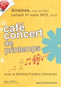 Affiche du concert de printemps