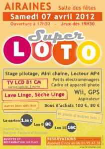 Affiche du loto