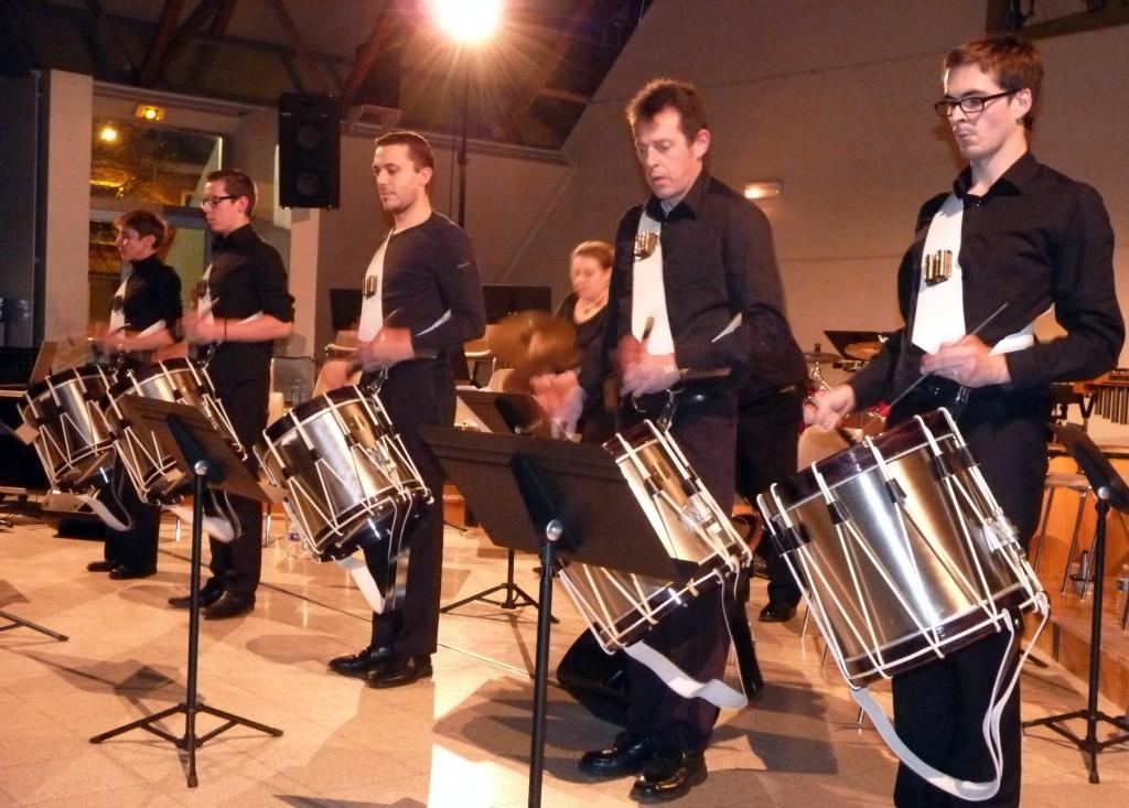 Photo des tambours