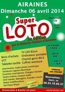 Affiche du 3e super loto