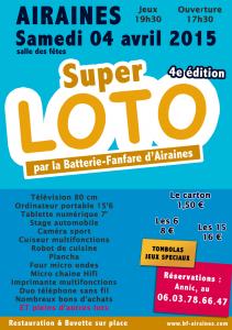 Super loto 2015 Airaines