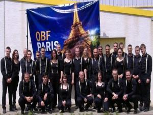 A Noyal Muzillac, la batterie-fanfare de Paris, a proposé une version de Boulevard du Cirque