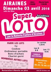 Super Loto 2016 Airaines